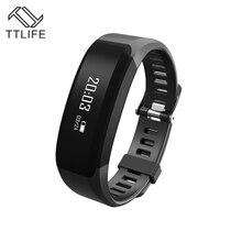 TTLIFE H28 Водонепроницаемый Xiaomi Стиль smart Сердечного ритма Мониторы сна Мониторы touch OLED Экран умный Браслет Фитнес трекер
