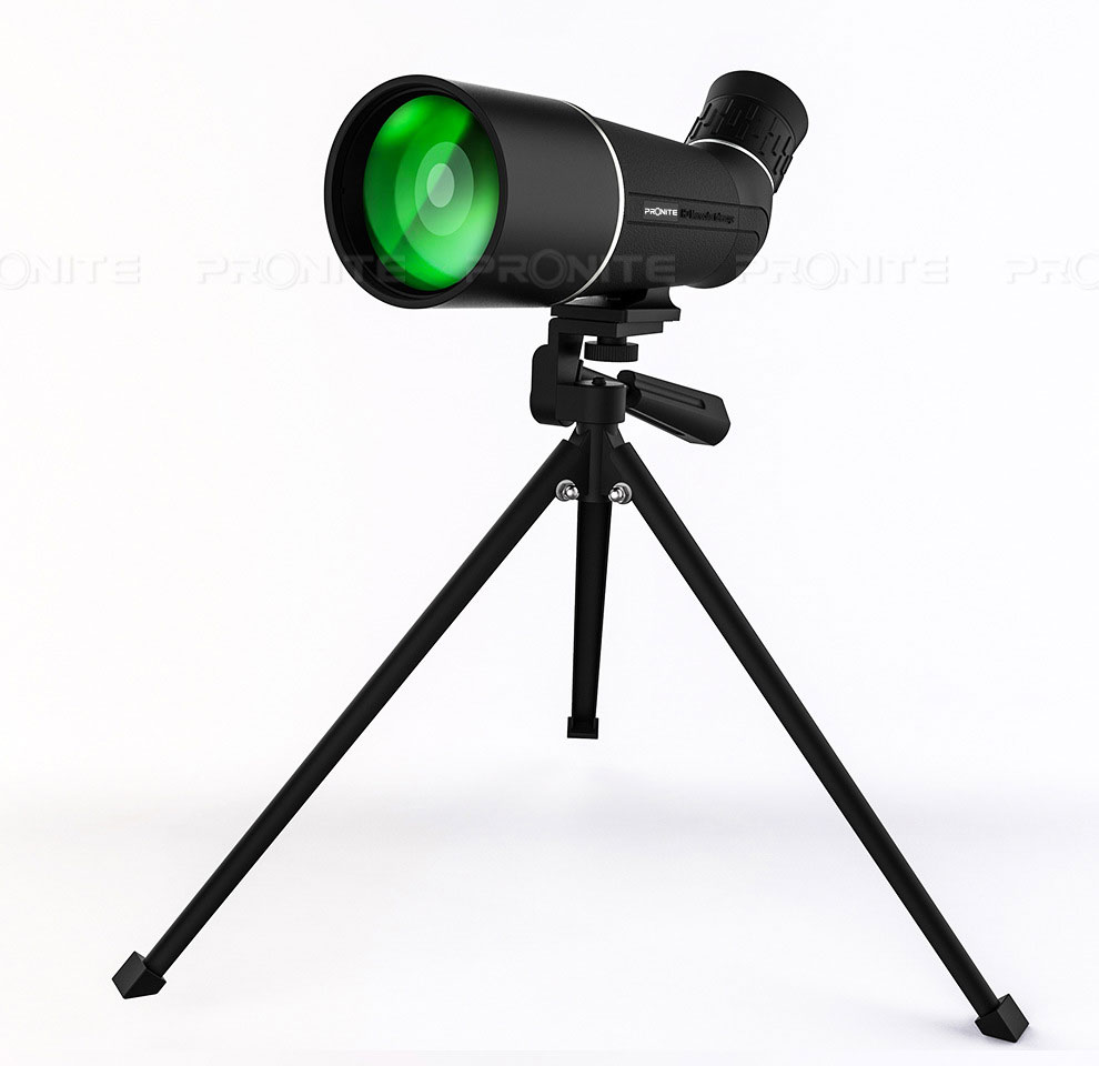 Monocular 20X60 Hunting Professional Bird Watching Telescope Optical Glass Portable Night Vision Binoculars Spyglass Monocle image
