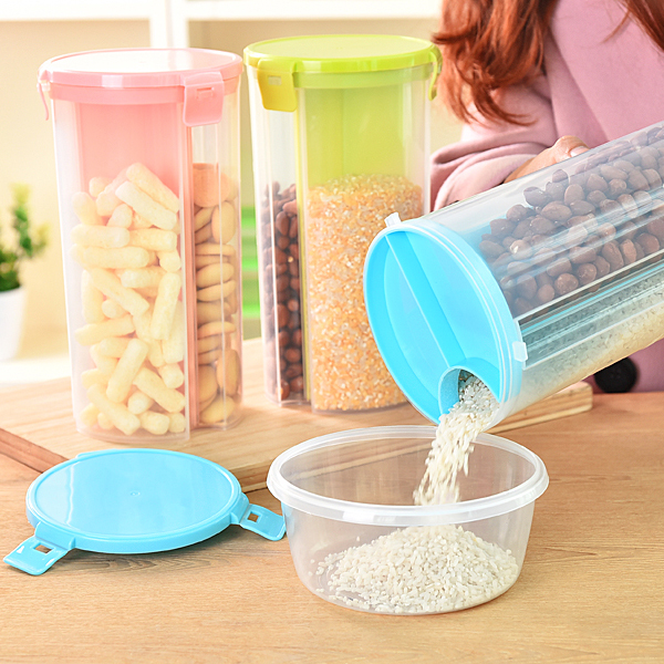 Kitchen food storage box grain storage tank plastic food containers