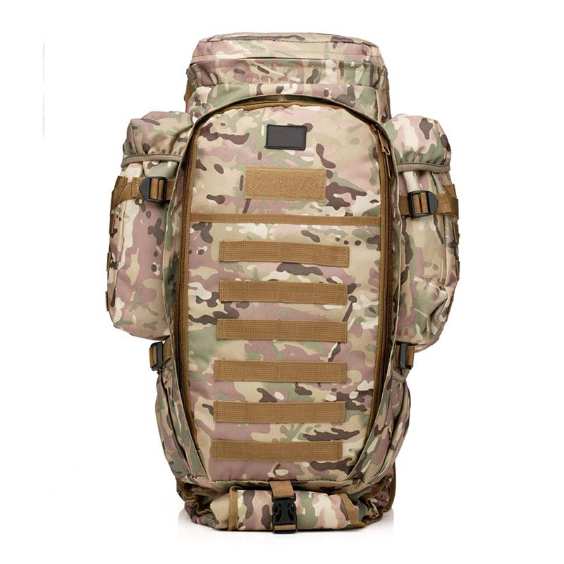 Outdoor Combination Backpack Military Tactical Rifle Bag Waterproof Multifunction Backpack Doggy Bag Men Camping Camouflage Bag outlife new style professional military tactical multifunction shovel outdoor camping survival folding spade tool equipment