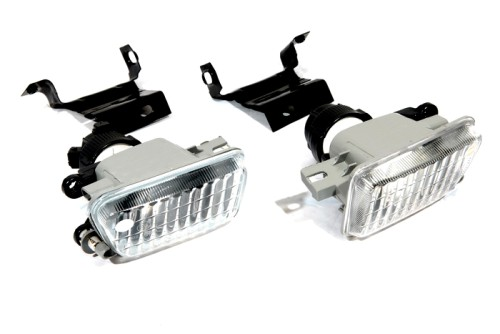 Big Bumper Clear Glass Fog Light for VW Jetta MK2 / Golf MK2 fm 906 7x17 5x114 3 et35 d67 1 mb