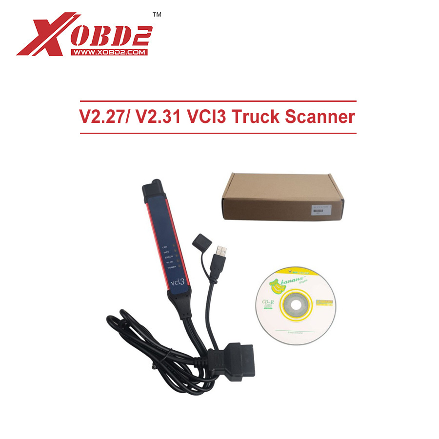 Engine Analyzer Sensible Latest V2.37.2 Vci3 Vci-3 Scanner With Wifi Wireless V2.31 Sdp3 Software For Truck Diagnosis Tool To Instead Of Vci2 Vci1 Diagnostic Tools