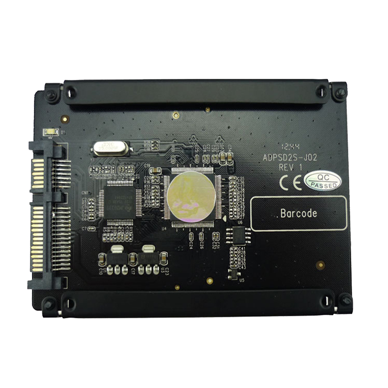 4 flash sdio sd sdhc card to 22pin sata hdd secure. Black Bedroom Furniture Sets. Home Design Ideas