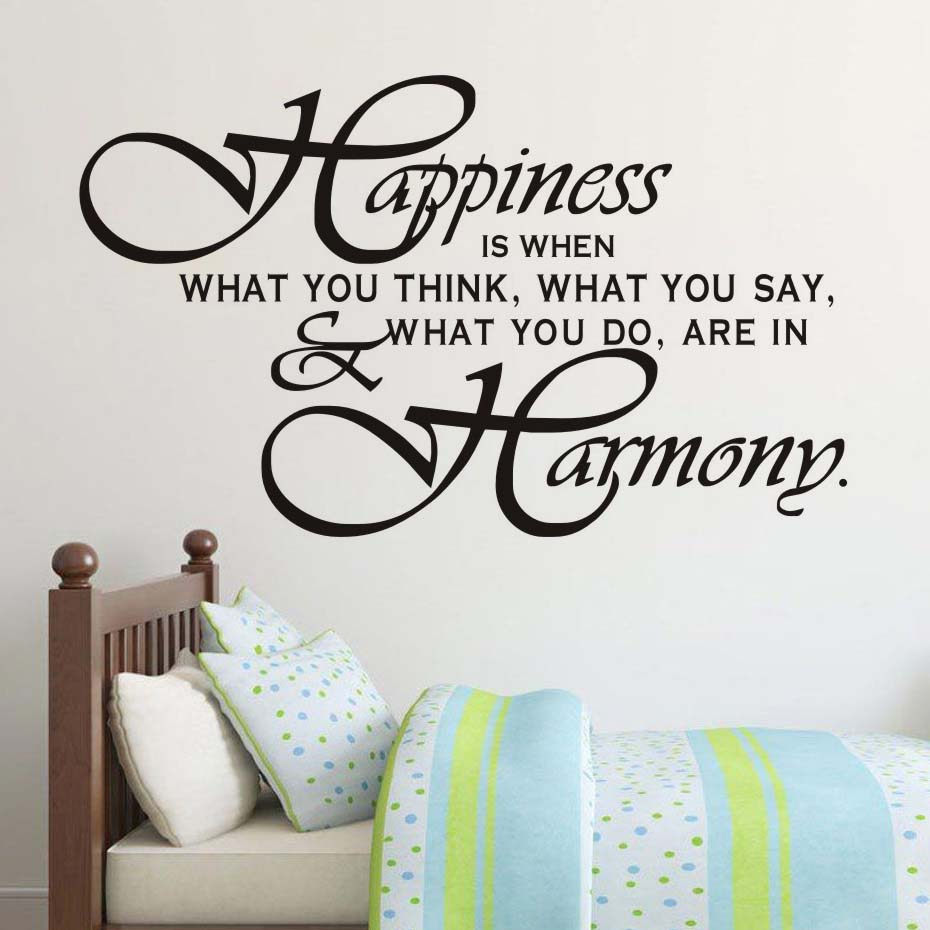 popular family sayings wall art buy cheap family sayings wall art harmony life quotes family wall sticker positive sayings vinyl wall art adesivo de parede for living