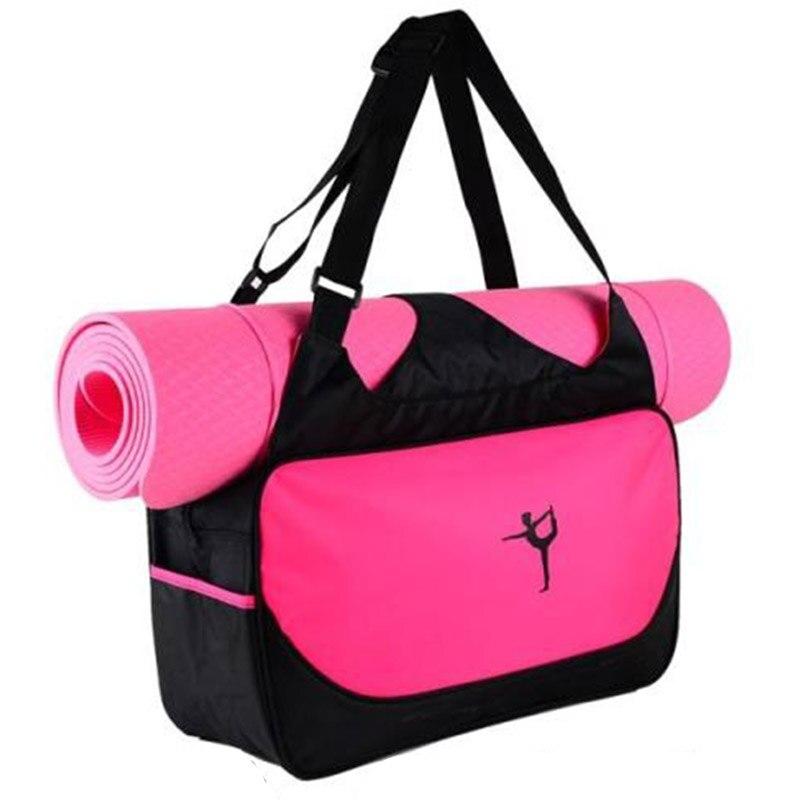 Nylon Multifunctional Clothes Yoga Bag Gym Mat Bag Yoga