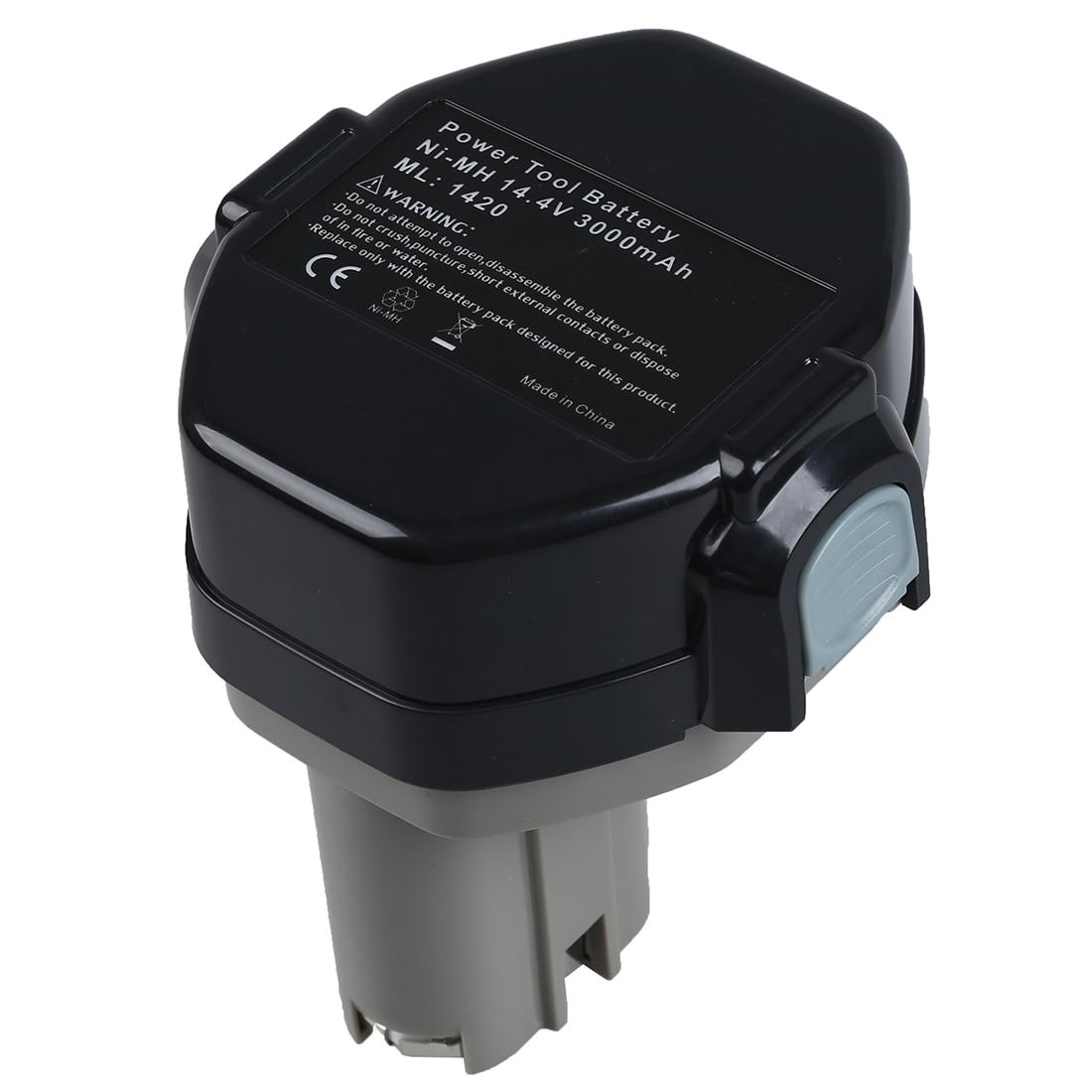 14.4 V Battery For MAKITA 1433 1434 Makita 6233D 4033D 6333D 6336D 6337D 8433D, black+gray