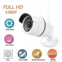 1080P HD IP Camera Outdoor Wireless Bullet Camera 1080p Waterproof Surveillance Camera With IR CUT Night