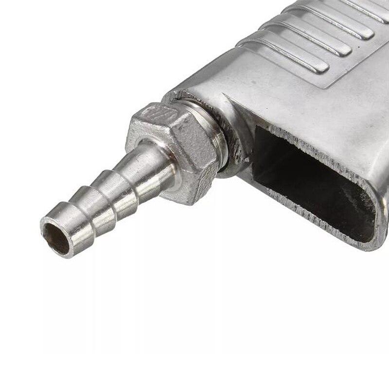 Image 4 - Sandblaster Feed Blast Gun Air Siphon Sand Blasting Abrasive Tool Ceramic Nozzles Tips Kit Power Tools Sprayer Freeshipping-in Spray Guns from Tools on