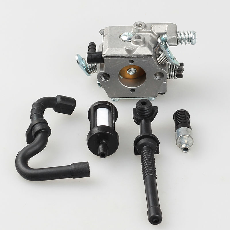 Chinasaw parts Fits STIHL Walbro MS170 MS180 017 018 For Carburetor Carb With Fuel Line Filter Chain
