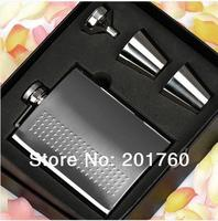 Blasting Quality Goods Thickening 304 Stainless Steel Hip Flask With Portable 8 Oz Of Tangerine Gift