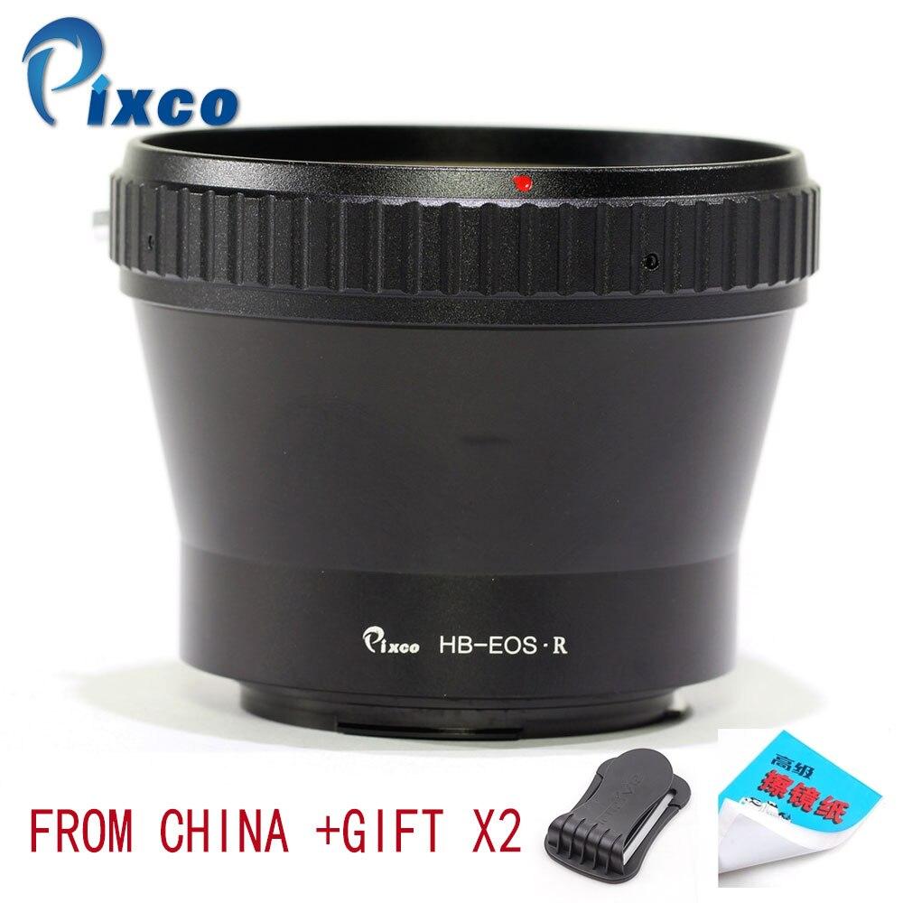 Pixco adaptateur de montage d'objectif pour HB-EOS.R anneau d'adaptateur de montage d'objectif pour lentille Hasselblad V vers caméra de montage Canon EOS R