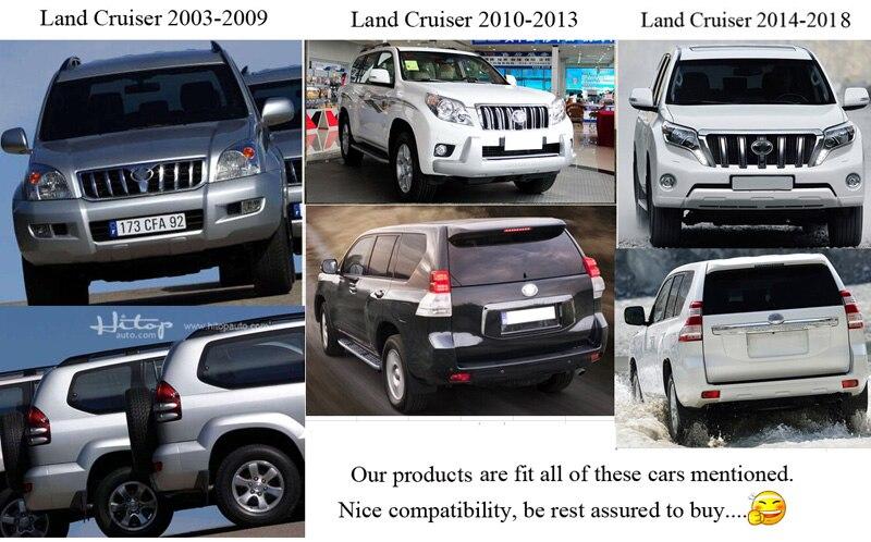 varm takstång takskena för Toyota Land Cruiser prado 120 150-serien - Reservdelar och bildelar - Foto 3