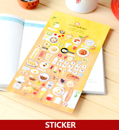 5 folhas lote cookie de alimentos adesivos utensilios de mesa da cozinha adesivos decorativos como