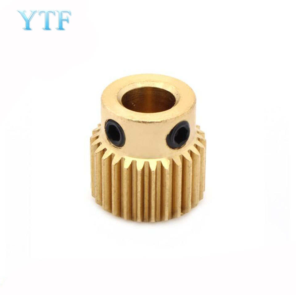 26 Teeth Extrusion Head Gear Inner Hole Diameter 5MM 3D Printer Parts For MK8 Extruder 5
