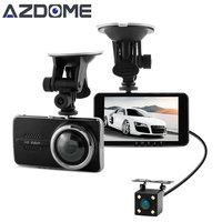 Azdome Y900 Dual Lens Car DVR Dash Cam NTK96658 Video Recorder 4 0inch IPS Full HD