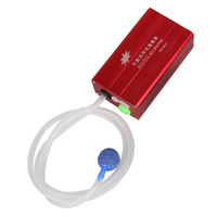 3 STKS/SET LED Zonne-energie Aquarium Luchtpomp Beluchter Zuurstof met ONS Plug 80 cm Uitlaatpijp Vissen Accessoires Met ONS Plug