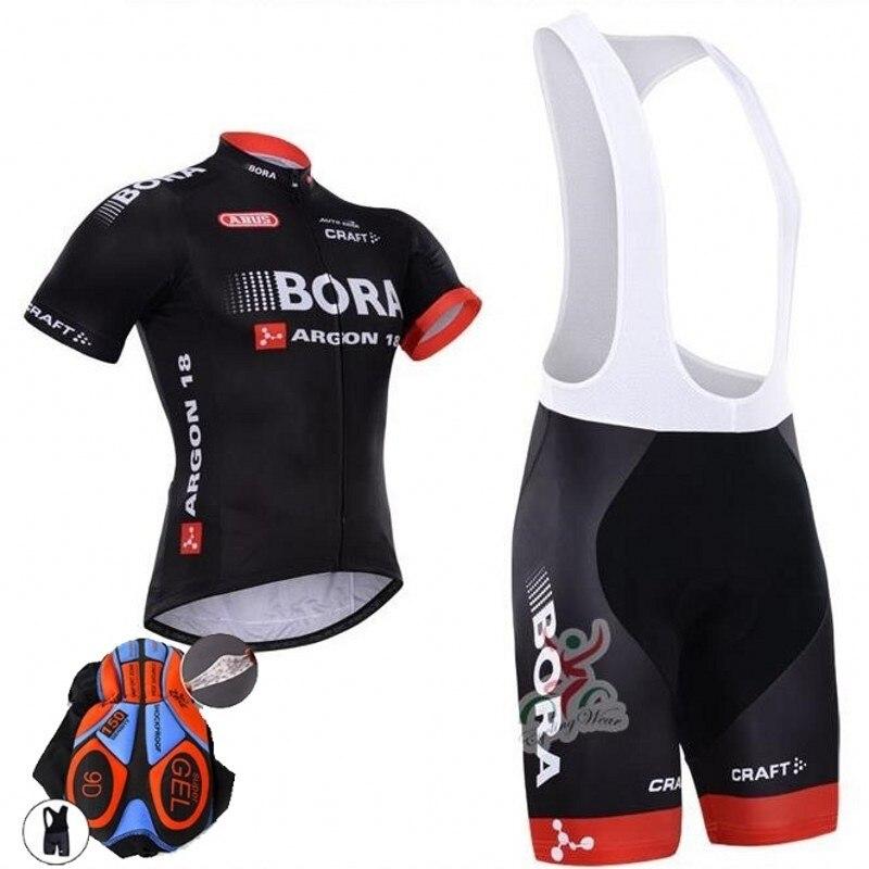 New team BORA cycling jersey bike shorts set Ropa Ciclismo quick dry mens  pro cycling wear 265677605