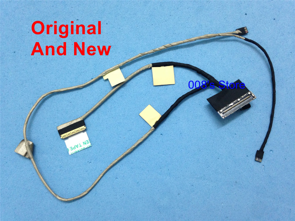 Cable Length: Other Connectors LCD LVDS Video Cable for Asus RoG G550J G550JK N550 N550J N550JA N550JK N550JV N550JX LCD Flex Cable 1422-01HC000