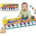 72*29 cm Crianças tapete Esteira do Jogo do bebê Música de Piano do bebê musical mat educacional do presente do bebê brinquedos Eletrônicos para crianças