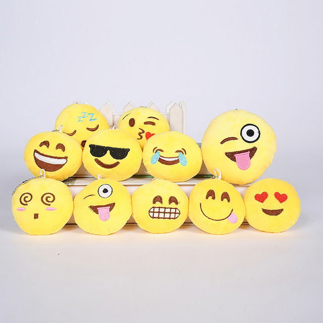 Emoticons Plush Toys Dolls Small Pendant Cute Doll Dolls Send