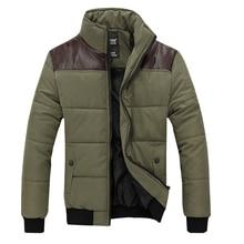 НОВЫЙ 2015 горячая Зима мужская Одежда napapijri Куртки Плюс Размер Хлопок Мужская Куртка Человек Пальто Шить Толстый Ватник Ветрозащитный молодежь