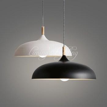 Modern Nordic Northern Lighting Acorn Pendant Lamps With Edison Bulb For Dining Room Bar Restaurant Kitchen Lighting