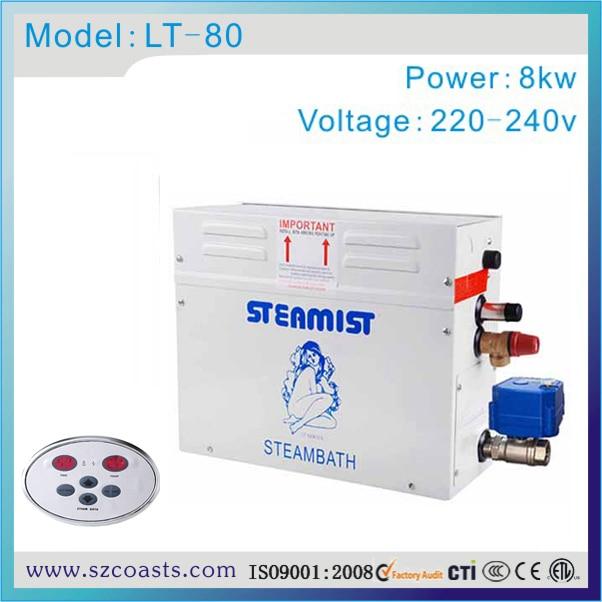 Steamist Generatore Di Vapore 8kw Doccia Sauna Bagno Di Vapore Per