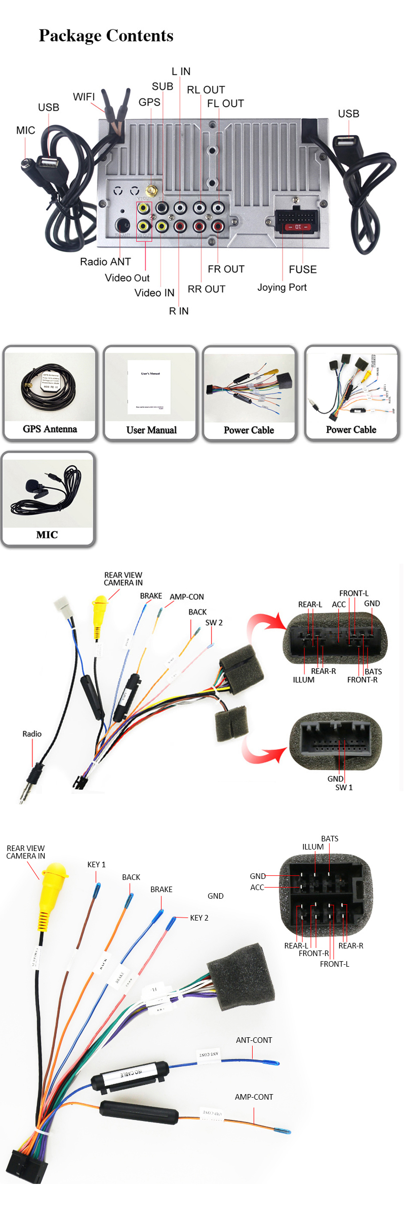 Coika Android 80 System Car Multimedia Stereo For Honda Civic 2006 Din Cd Canbus Wiring Fitting Kit Fascia Stalk Ebay Do I Need To Pay Custom Duties