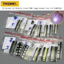 TKDMR חדש 15 סוגים LED 3528 3030 3535 4020 4014 במיוחד עבור LG סמסונג LED טלוויזיה תיקון הטוב ביותר באיכות. משלוח חינם