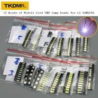 TKDMR nuevo 15 tipos de LED 3528 3030 3535 4020 4014 especialmente para LG Samsung LED TV reparación de la mejor calidad. Envío Gratis