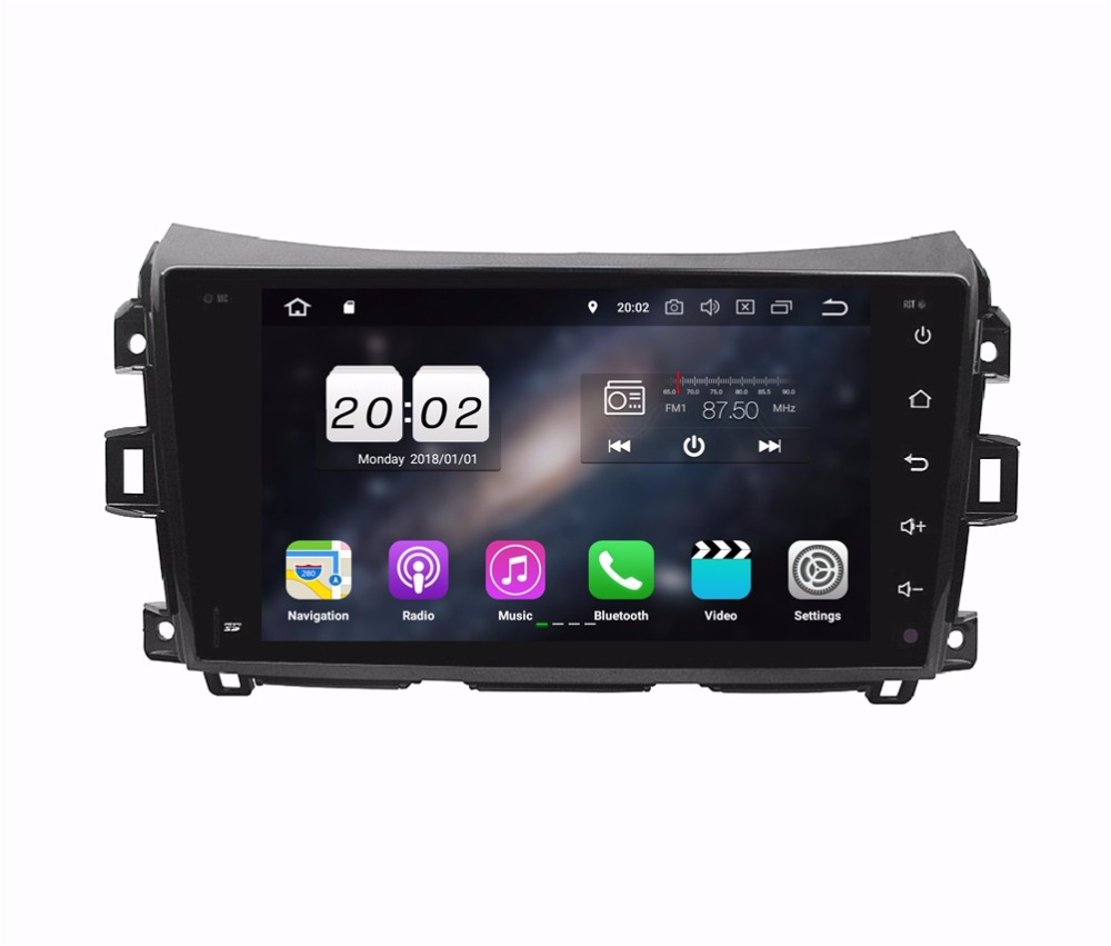 "1024*600 9"" Quad Core Android 8.1 Car Audio DVD Player for Nissan Navara 2016 Right Driving Radio GPS WIFI Bluetooth Mirror link"