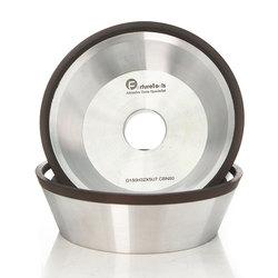 4/5/6 inch 11V9 Diamant affakkelen cup nat slijpschijf BW kom vorm diamant slijpschijf voor hardmetaal slijpen R020