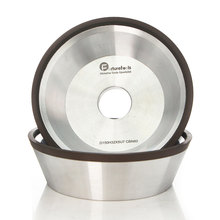 цена на 4/5/6 inch 11V9 Diamond flaring cup wet grinding wheel BW bowl shape diamond abrasive wheel for tungsten carbide sharpening R020