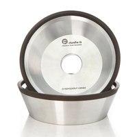 4/5/6 inch 11V9 Diamond flaring cup wet grinding wheel BW bowl shape diamond abrasive wheel for tungsten carbide sharpening R020
