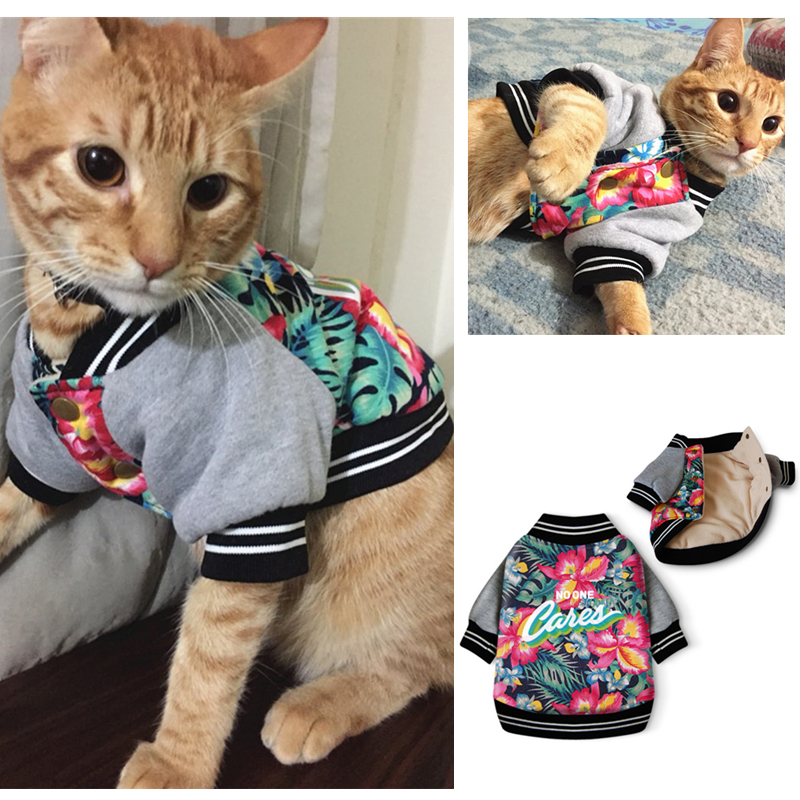 Fancy Pet Cat Clothes Warm Cat Coat Jacket for Small Cats Clothing Pet Costume Outfit Funny