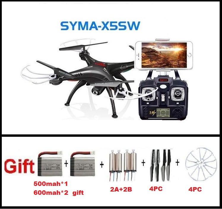 newest Syma X5SW 2 4G RC quadcopter RC drone rc helicopter with 2MP wifi FPV camera