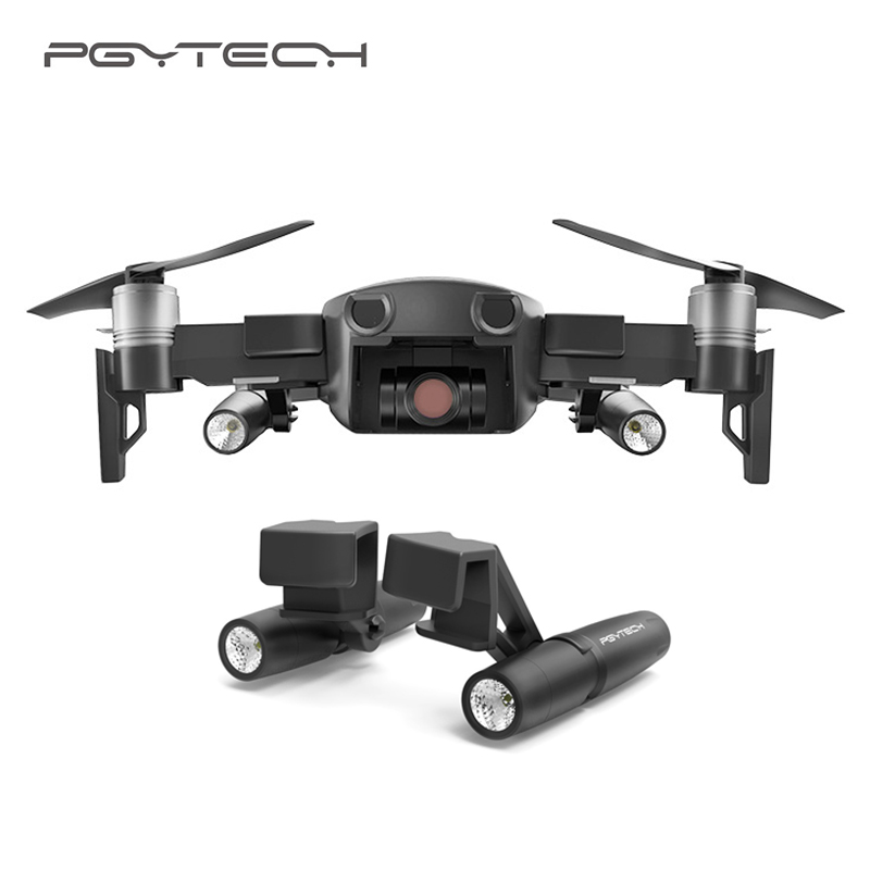 PGYTECH DJI Mavic Air Led lamp Without battery fill in light searching guide Light in night