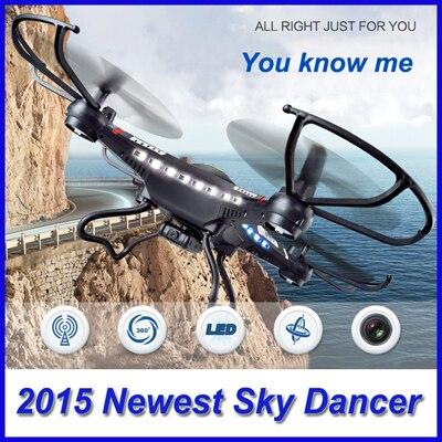 2.4G 4CH 6 Axis RC Quadcopter Drone JJRC H8C MODE2 Sin Cámara RTF