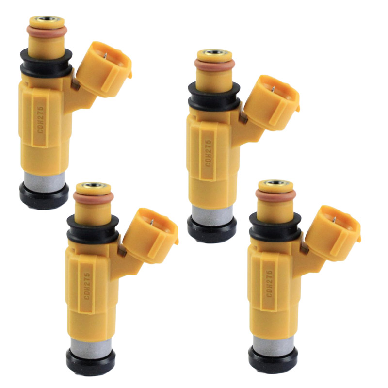 4PCS Fuel Injectors For Marine Yamaha F150 Outboard Four Stroke Mitsubishi