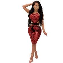 MUXU red sequin dress backless patchwork suspender dress sexy bodycon women  clothing kleider fashion sundress summer glitter cf94e9dd0629