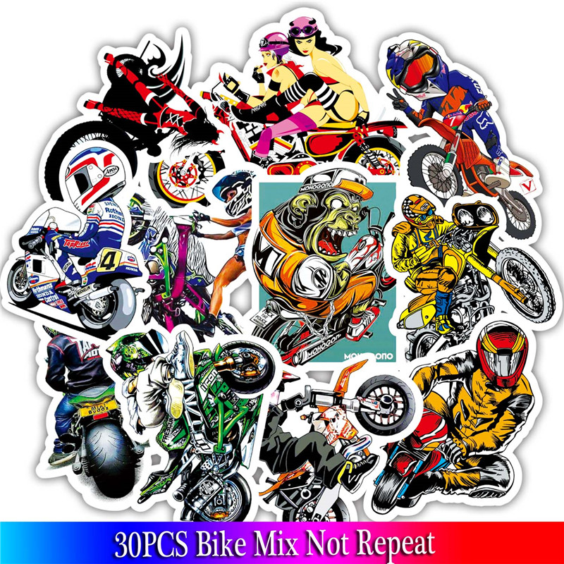 30PCS Motorcycle Stickers Skull Sexy Girl stickers For Luggage Skateboard  Bicycle Fridge Laptop Cute Cartoon Sticker Set30PCS Motorcycle Stickers Skull Sexy Girl stickers For Luggage Skateboard  Bicycle Fridge Laptop Cute Cartoon Sticker Set