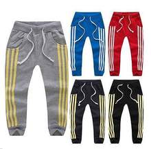 2016 cute new style Boys New Jogger Dance Sportwear Baggy Harem Pants Slacks Trousers Sweatpants
