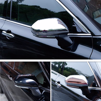 2Pcs Chrome ABS Side Door Rearview Mirror Cover Trim For TOYOTA CAMRY 2018 Exterior Parts New Fashion