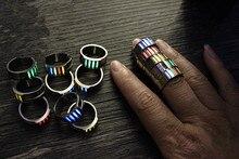 22mm Titanium Alloy Tritium Tube Tritium Gas EDC Luminous Rings Creative Gifts все цены