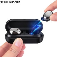 ToHayie M9 TWS True Wireless Earphone Headset Auriculares Bluetooth Earphone Buds With Mic Mini Music Earbuds