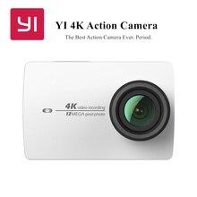 """YI 4พันการกระทำกล้อง2 2.19 """"จอlcdมินิกล้อง155องศาEIS Wifi A Mbarella A9SE75 12MP CMOSระหว่างประเทศฉบับที่สีขาว"""