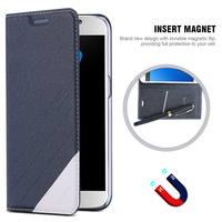 S5 Flip Wallet Case Original PU Leather Cover For Samsung Galaxy S5 SV I9600 Full Protect
