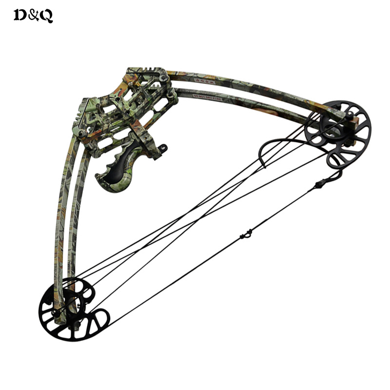 цена на 50lbs Camo Black Archery Compound Bow Let-Off 75% IBO 270 fps for Left Right Hand Hunter Shooter Hunting Shooting Slingshot Bow