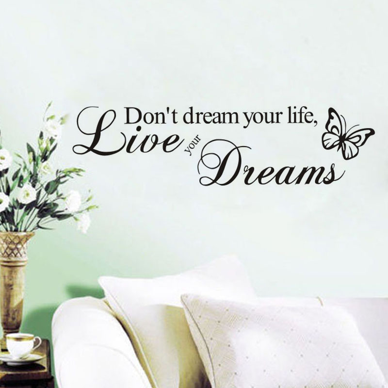 Dream Wall Art popular live your dreams-buy cheap live your dreams lots from
