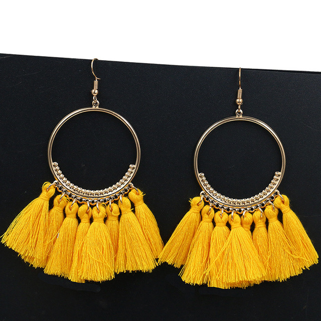 Women's Bohemian Style Tassel Earrings